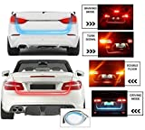 #10: FABTEC Premium Quality Streamer Brake Turn Signal Flow LED Strip Trunk Light (Triple Color) HYUNDAI SONATA