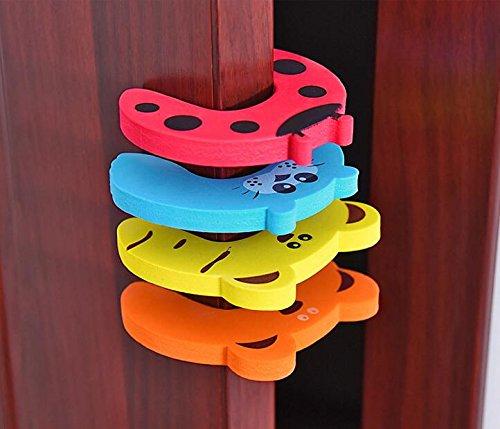 Sicherheits-karte (EVA Baby Anti-Ordner Hand Tür Karte Sicherheit Tür Stecker Kinder kreative Tür Tür Tür Widerstand Tür Kindergarten Tür Sicherheit Tür Stecker Gummi ( Color : Blue ))