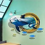 Homk101 Le Monde Sous-Marin Autocollant Mural Salon Fond Autocollants Décor À La Maison