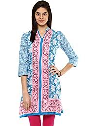 Rangmanch By Pantaloons Womens Cotton Printed Kurta