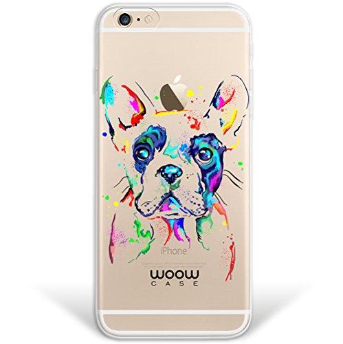 iPhone 6 6S Hülle, WoowCase® [ Hybrid ] Handyhülle PC + Silikon für [ iPhone 6 6S ] Universum Mädchen Mehrfarbig Handytasche Handy Cover Case Schutzhülle - Transparent Hybrid Hülle iPhone 6 6S H0018