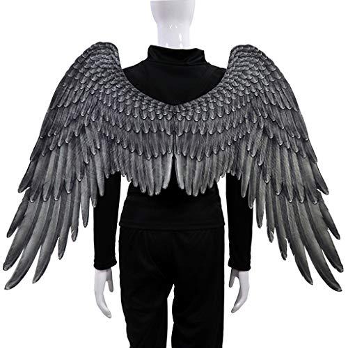 - Herren Schwarz Engel Flügel Kostüm