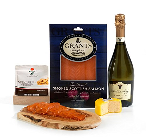 Hay Hampers The Smoked Salmon Pair Hamper Gift Box - FREE UK Delivery