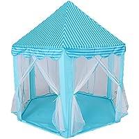 Homyl Juego de Diversión Tienda Niños Princesa 10x Bola LED Luz de Cadena Ligero Duradera Acogedora - Azul