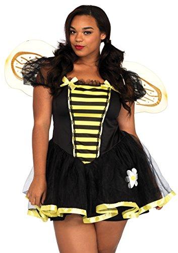 Leg Avenue 83645X - Daisy Bee Kostüm Set, Größe 44, (Halloween Prinzessin Daisy)