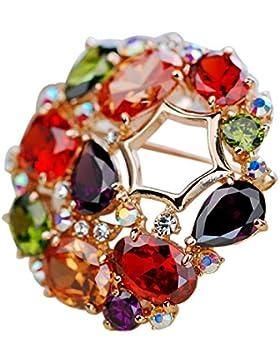 Diamante Gortl Spilla In Cristallo Spilla Costoso Di Fascia Alta Di Lusso Mini Leggero Prezioso Elegante Semplice...