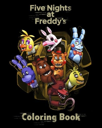 Five Nights at Freddy's: Coloring Book for Kids & Adults (high-quality Illustrations) por David R.B.
