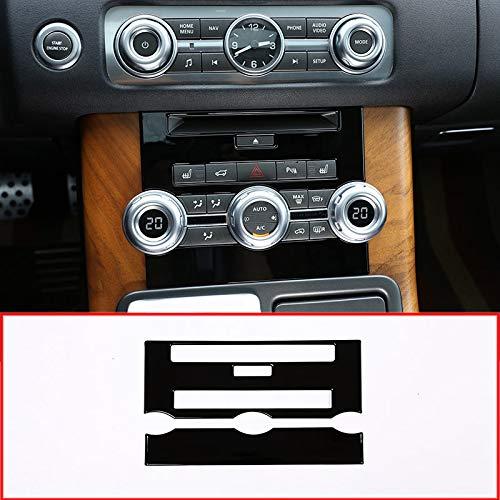 MAVMAX ABS-Chrom-CD-Bedienfeld für Range Rover Sport RR Sport 2012-2013 (schwarz) Land Rover Cd
