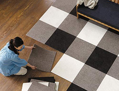 JIAJU Empalme alfombras Paquete Azulejos Alfombra