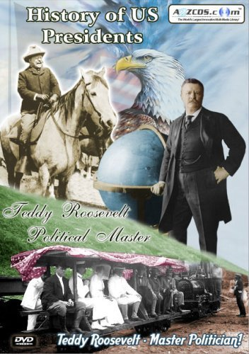 History of US Presidents: Teddy Roosevelt - Political Master (2-DVD Set) by A2ZCDS.com (Dvd Teddy Roosevelt)