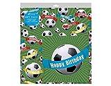 Kinder Fußball Geschenkpapier Set