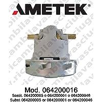 Motor aspiración 064200016ametek Italia para mopa y aspiradora