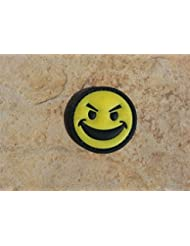 Smiley Jaune PVC Airsoft Moral Patch