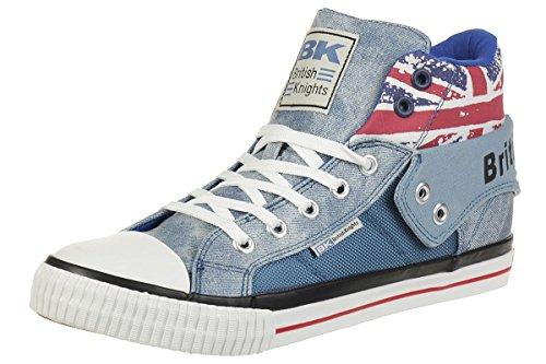 British Knights ROCO Union Jack Sneaker blau EU42