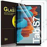 IVSO Screen Protector for Samsung Galaxy Tab S7, for Samsung Galaxy Tab S7 Screen Protector, Clear Tempered-Gl