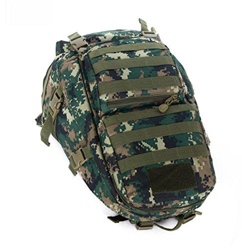 Moda Camouflage Multifunzionale All'aperto Viaggi Borsa Alpinismo Tela Di Canapa Zaino,DesertCamouflage-OneSize JungleCamouflage