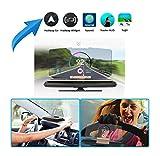 Zoech Head Up Display HUD für Smartphones und iPhones bis 13,97cm (5,5 Zoll). Auto Handy Halterung GPS Navigation Bild Reflektor