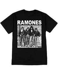 Ramones - - Hommes 1er album de courtes T-shirt à manches In Black