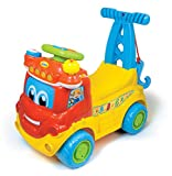 Clementoni 65140 - W10572 - Sanson camion educativo per bambini [Lingua spagnola e inglese]
