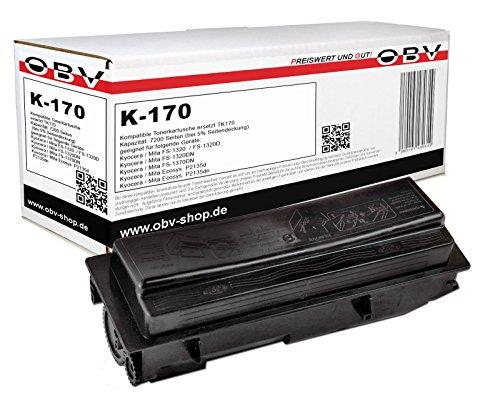 Preisvergleich Produktbild OBV kompatibler Toner ersetzt Kyocera TK-170 , 7200 Seiten schwarz FS-1320D FS-1370DN