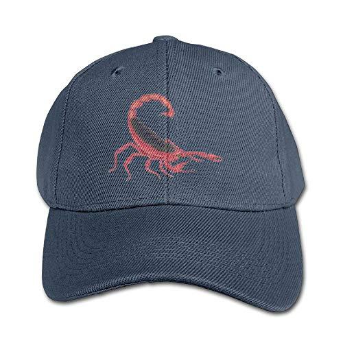 liulishuan Kids Girls Boys Scorpion Snapback Pure Baseball Cap Outdoor Sports Unisex9