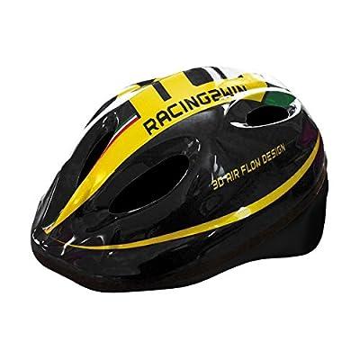MV-TEK Cycle Helmet boy model Racing Helmets, black, size M) (Baby boy/Cycle Helmet size M black model Racing Helmets (Children) from MV-TEK