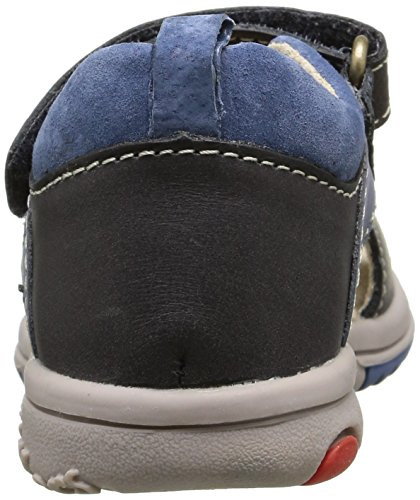 Kickers Plazabi, Chaussures Bébé marche bébé garçon Bleu (Bleu Foncé Bleu)