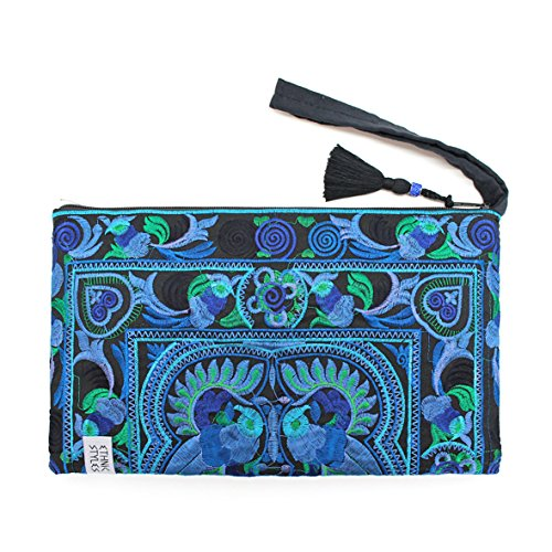 ETHNIC STYLES Ethno Hmong Clutch