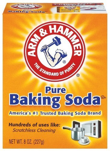 Arm & Hammer Pure Baking Soda, 8oz(227g) (Pack of 2) by Arm & Hammer