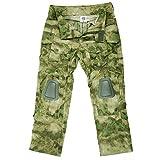 Kommando Hose FG Tarn Bestes Tarnmuster KSK Uniform Airsoft Ripstop Einsatz Tactical US Camo A-Tacs Kampf Protektoren , Farbe:Oliv, Größe:Herren XL