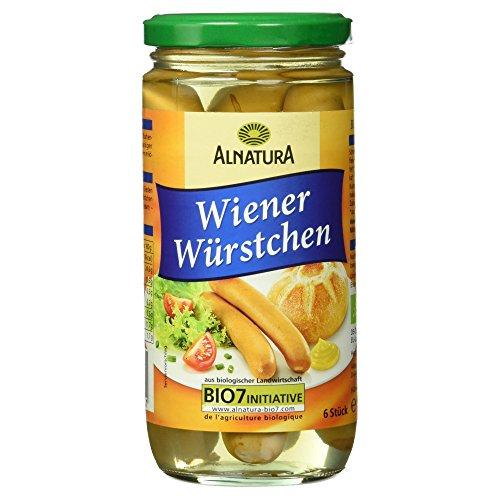 Alnatura Bio Wiener Würstchen, 6 Stück, 400 g