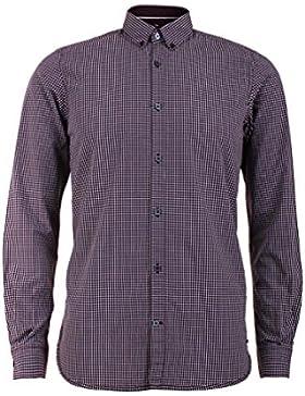 Tom Tailor Herren Freizeithemd Floyd Soft Small Check