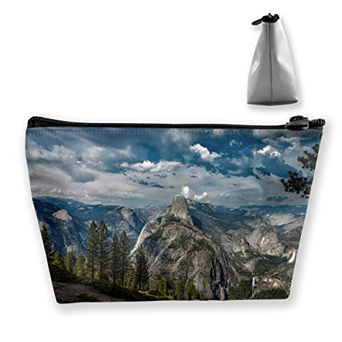 Yosemite National Park1 Tixing Trapezoid Travel Bag da viaggio Cosmetic Bags 7x12x22CM