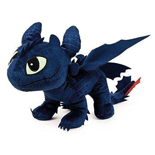 Preisvergleich Produktbild Drachenzähmen leicht gemacht - Dragons - Plüsch Figur Kuscheltier Drachen Ohnezahn Toothless 40x12x32 cm