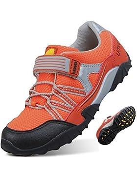 UOVO Niños Zapatos Niños Trekking Zapatos de Senderismo Correr Zapatillas Moda Entrenadores atléticos Zapatos...