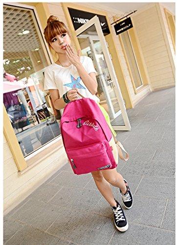 SONGQEE(TM) ,  Unisex-Erwachsene Unisex-Kinder Damen Mädchen Hohe Hausschuhe Rose