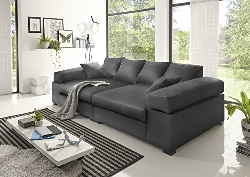 BIG Sofa- Anthrazit – Modell Hercules