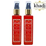 #2: Khadi Global Fruit Fusion With The Richness Of Pomegranate MIST Facial Toner 100% Natural & Safe Contains No Alcohal Pack Of 2 (Total 200 ml)