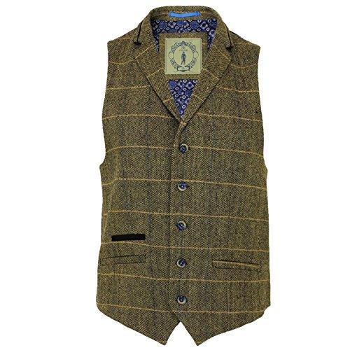 Cavani -  Blazer  - Uomo Waist Coat (Albert-Brown)