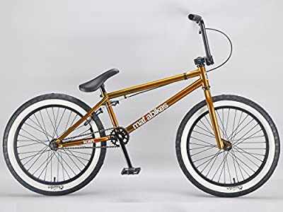 Mafiabikes Kush 2 20 inch BMX Bike GOLD by Mafiabikes