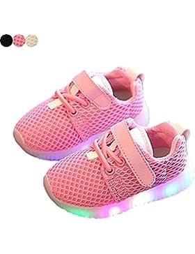 Zapatos LED niños zapatos ligeros, Stillshine - Chico Chica intermitente deporte Running zapatillas zapatos de...