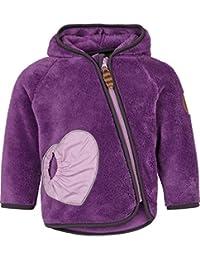 Racoon Baby Girls' Helene Teddyfleecejacke Jacket