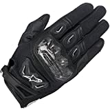 Alpinestars 1695160104 Motorrad Handschuhe, Schwarz, L