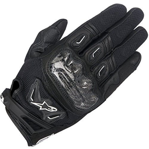 Motorcycle Alpinestars SMX-2 Air Carbon Gloves V2 Ladies Black S