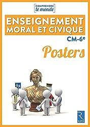 Posters Enseignement moral et civique CM-6e