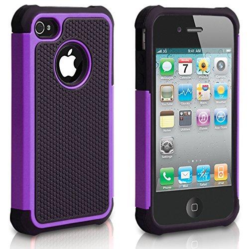 iPhone 4Fall, iphone 4s Fall, chtech Fashion stoßfest Langlebig Hybrid Dual Layer Rüstung Defender Schutzhülle für Apple iPhone 4S/4