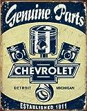Chevrolet Pistons Großes Metallschild 400mm x 320mm (de)