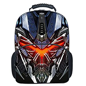3D Transformers Mochila Escolar Para Niños Adolescentes Ligeros Mochilas Para Niños Y Niñas Bolsas Escolares De 8-15 Años