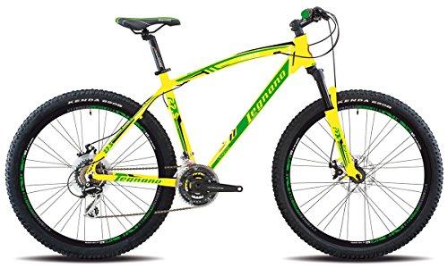 Legnano Lavaredo 625 - Vélo 27,5, plateau 21V, taille 45(VTT suspension avant) - Jaune par  Legnano