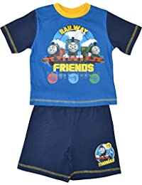 Boys Thomas and Friends Short Pyjamas Age 12 Months to 4 Years